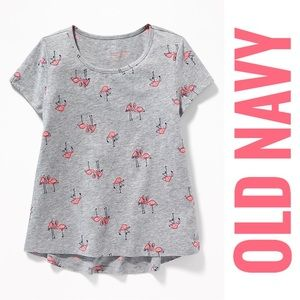 Old Navy Pink Flamingo Tee- New With Tags